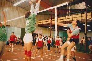 1988 Tournoi de volley - Yves Miquel - René Castaing - Pierre Caussade - Dab - Didier Marquez