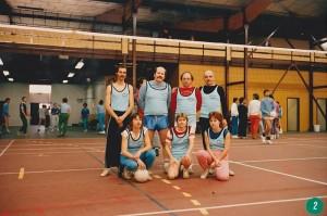 Tournoi volley Alain Jamart - Alain Debat - Jean Plaze - Jacques Rameil - Christine Hue - Maryse Gascq - Brigitte Rameil