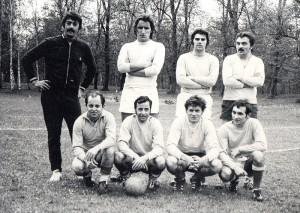 1972 - avril Interradio de Rugby - Fabre - Anthian - Laporte - Ferrage - Barrière