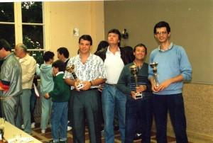 1987 - Tournoi européen de Tennis - Lagarde - Miquel - Ferrage - Malatray (2)