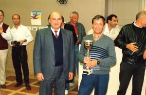 1987 - Tournoi européen de Tennis - Chef de centre Desclaux et Jean Ferrage (4)